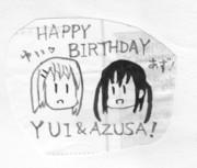 ゆいあず誕生日