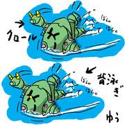 ジオン泳法