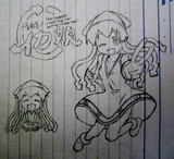 【落書き】イカ娘 模写