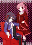 ほむらと杏子