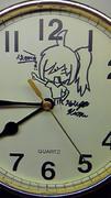 時計に!?