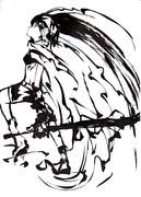 筆の力「ブラックロックシューター」2