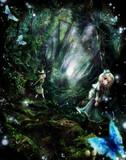 魔法の森入口付近