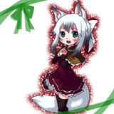 お狐さん(冬毛)