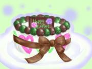 【羊羹さん】バースデーケーキ【誕生日おめでとう!】
