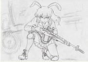 うどんげ+M14 (ラフ)