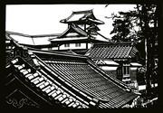 【切り絵】金沢城