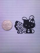 キティちゃん切り絵