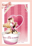 アイスクリームの妖精さん