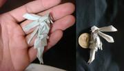折り紙で初音ミク(*´꒳`*)