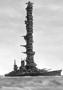 設計班「超高層戦艦を作ってみました!」 艦長「!!」