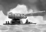 超々旋回巨砲戦艦