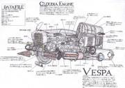 Vespa 内部構造図!