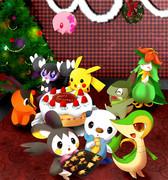ポケモンたちのクリスマス