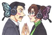 小五郎と英理にmagnetさせてみた