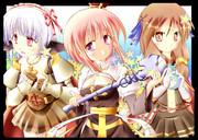 可愛い三姉妹?