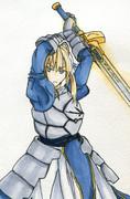 Fate/zero・ セイバー
