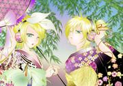 七夕:リン&レン