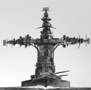 ⊂二二二( ^ω^)二⊃ブーン戦艦
