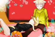 猫耳アルとアーサー