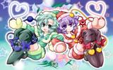 古明地姉妹クリスマス装備