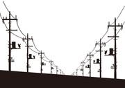 【背景素材219】電柱1