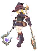 杖二刀流 魔女さん