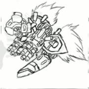 モーフィングを使った中割り(gifアニメ)