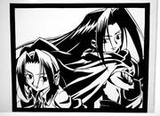 【切り絵】シャーマンキング