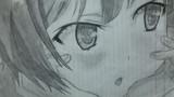 シャーペン2本でキボネング・デコこと前川さんを描いてみた