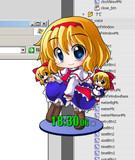 デスクトップ【クロックマスコット】ダウンロード公開