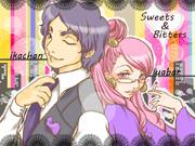 【描いてみた】Sweets&Bitters var.いかちゃん☆うあばぁ【うあばぁ】