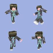 【Minecraft】スキン:ジュード・マティス【TOX】