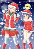 美希と千早で「メリークリスマス!」