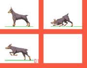 犬を描こう40回目