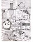 トーマスが疾走する漫画②