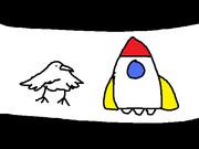 とりと宇宙船