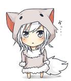 オオカミさん(野生)