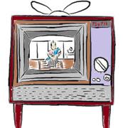 ダイヤル式アナログテレビ
