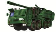 【陸上自衛隊】新型155mm装輪自走砲【イメージ図】