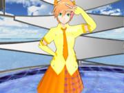 KAITO亜種・恋人にアイドル風衣装着せた ~明けましておめでとうございます~