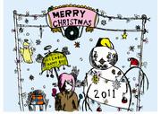 2011クリスマスの色塗りver.