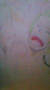【年賀状】ONEPIECEのゾロを描いてみた。