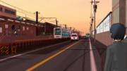 とある駅前の風景