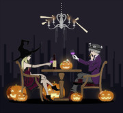 A Toast to Our Happy Halloween.