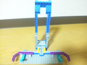 LEGOでアイパッドスタンドを作ってみた。