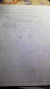 (美術2をとった俺が)レミリアを描いてみた