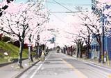 香住ヶ丘の春