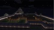 【マインクラフト】名古屋城作ってみた Part3