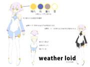 【weather-loid】Airi【設定画】